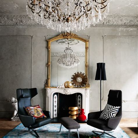 Simple Chandelier For Living Room Living Room With Statement Chandelier Easy Living Room