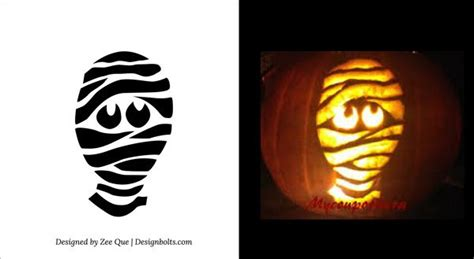 Mummy Jack O Lantern Template 25 best ideas about scary pumpkin carving on