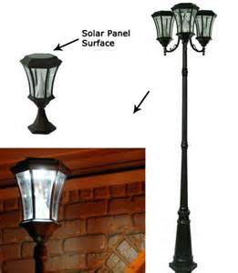 solar powered post light easy affordable ways to use solar today solar power