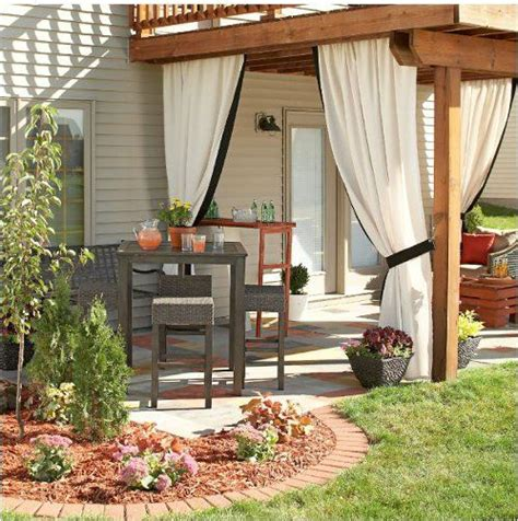 garden curtains diy garden privacy ideas refurbished ideas