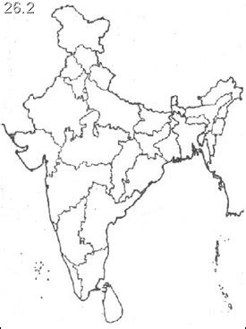 Search In India By Names Xvon Image India Political Map Without Names