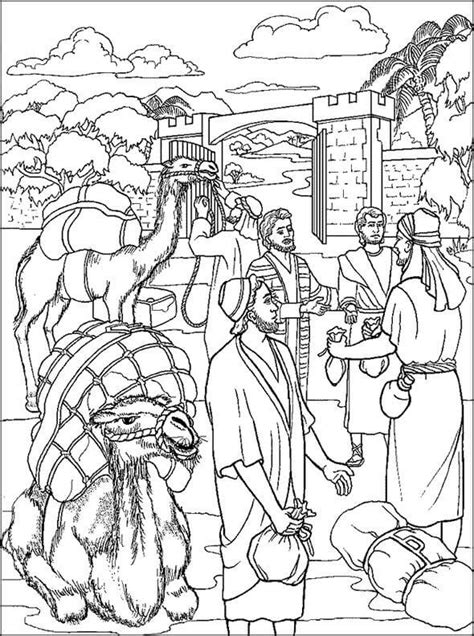 printable bible coloring pages joseph bible coloring pages 8 coloring pages for kids