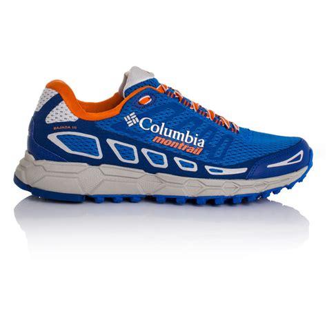 columbia running shoes columbia bajada iii trail running shoe ss17 50