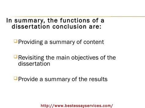 writing a dissertation conclusion how to write a conclusion in the dissertation buy