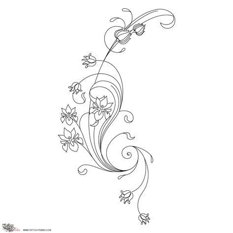 art nouveau tattoo designs of nouveau flowers
