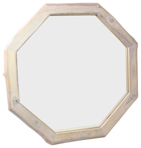 octagon bathroom mirror framed teak octagon mirror farmhouse bathroom mirrors