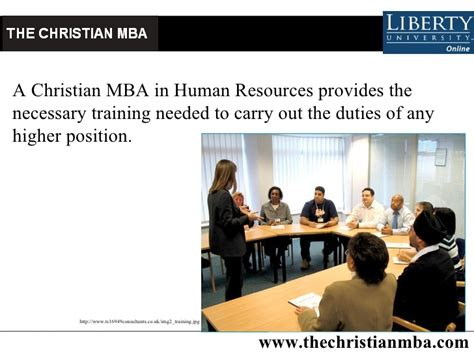 Mba Hr In Uk by Christian Mba In Human Resources