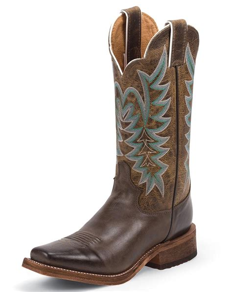justin boots square toe justin s bent rail 11 quot square toe boots chocolate