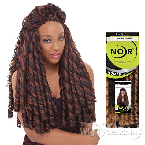 loc braid hairstyles pinterest janet collection noir softex dread loc janet collection noir synthetic braid drop curl braid
