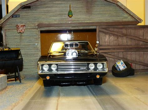 diorama werkstatt 1 18 fast furious 1 dodge charger 1970 ech 1 18 joyride