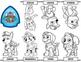 free printable paw patrol coloring pages free coloring pages of paw patrol birthday