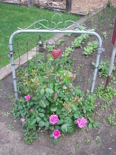 Pretty Garden Trellis 6 Diy Repurposed Trellis Ideas The Humble Gardener