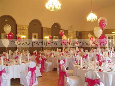 balloon centerpieces for wedding receptions wedding balloons fresh silk flowers pew end bows chair
