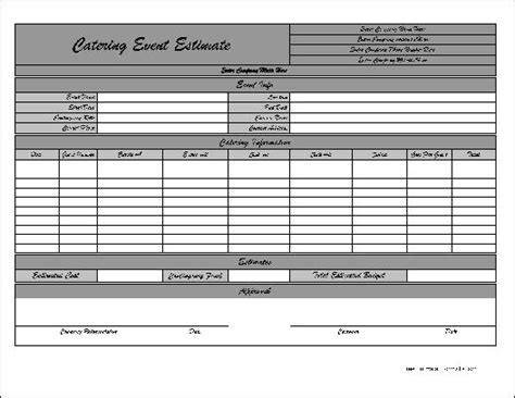 free lawn care estimate template studio design
