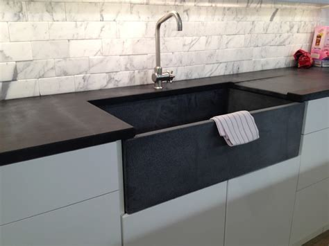 Soapstone Sinks soapstone kitchen sink and countertop chelsea contemporary kitchen new york by m