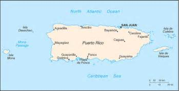 A Map Of Puerto Rico by Travelblog 187 Map Of Puerto Rico