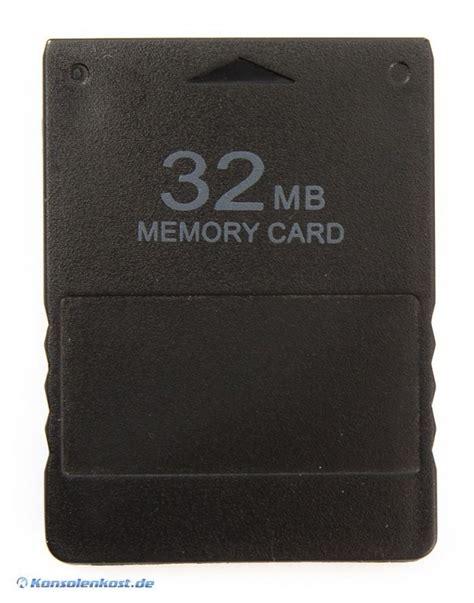 Memory Card Mmc Ps2 32mb Termurah ps2 memory card memorycard speicherkarte 32 mb kaufen 9069265 konsolenkost