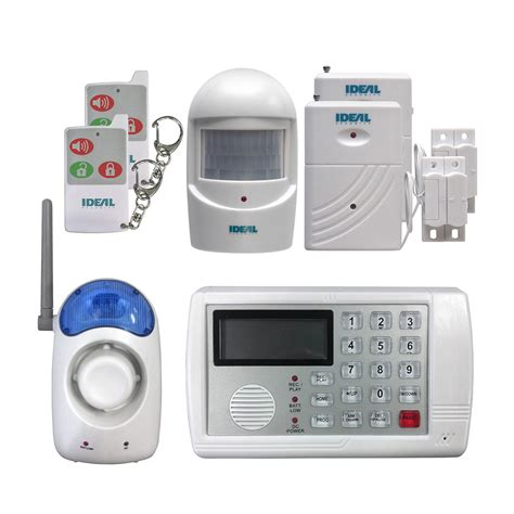 ideal security sk634 wireless self monitoring complete