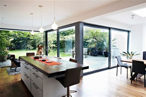 kitchen extension design ideas modern glass extension in the kitchen room design ideas klubicko org