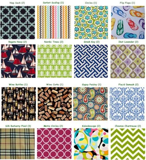 fabric pattern names pictures hb designs fabric backed wine tags more than paper