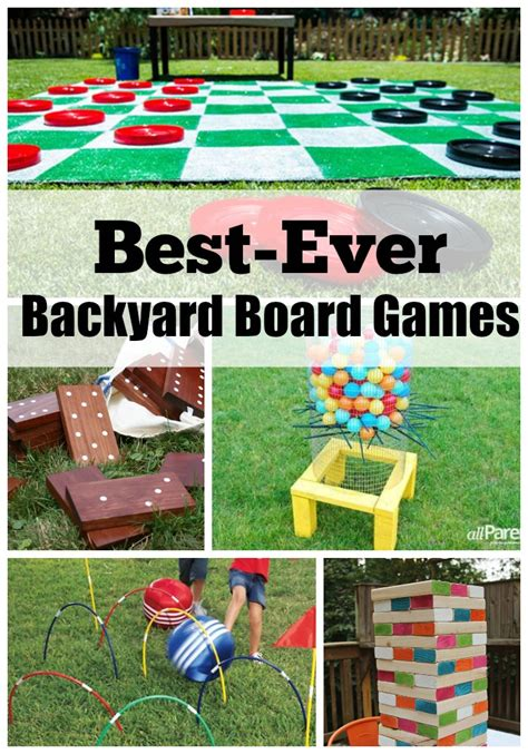 Backyard Activities by Best Backyard Board