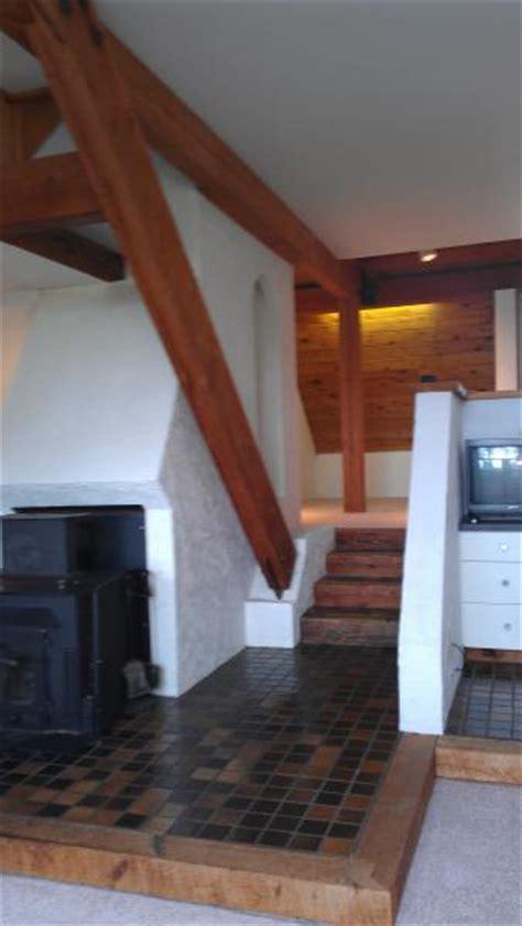 stain drywall  raw cut cedar plank