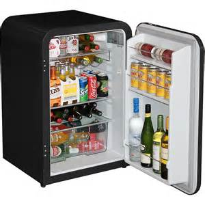 Cabinet Door Glass Husky Retro 130 Litre Trendy Under Counter Bar Fridge