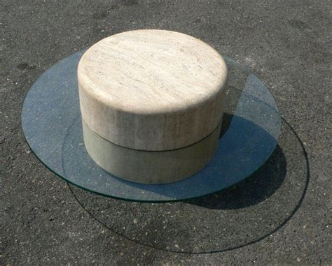 Saturn Coffee Table Travertine Quot Saturn Quot Coffee Table For Sale At 1stdibs