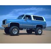 1986 Chevrolet Blazer  Information And Photos MOMENTcar