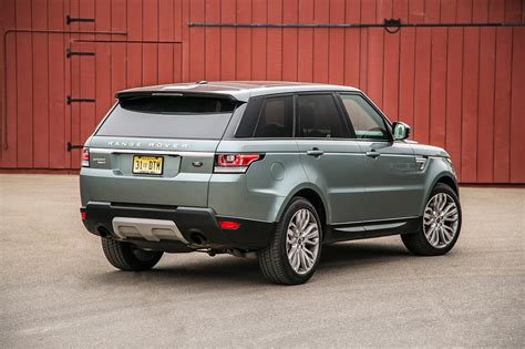 land rover rear 2014 land rover range rover sport hse rear three quarters