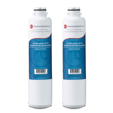 fits samsung da29 00020b haf cin exp comparable refrigerator water filter 2 pack 635510437383 ebay