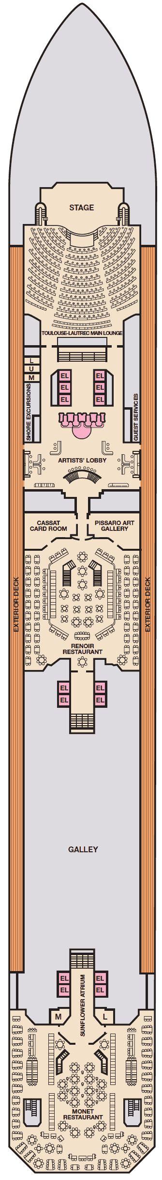 carnival conquest floor plan carnival conquest deck plans