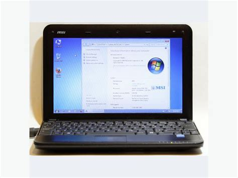 msi u100 driver msi u100 netbook intel atom wifi 1gb ram 80gb hdd 10 1
