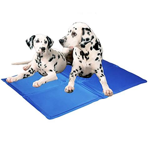 cooling mat for dogs kingstar comfort pet chill seat pad self cooling bed gel pads medium chillax mattress