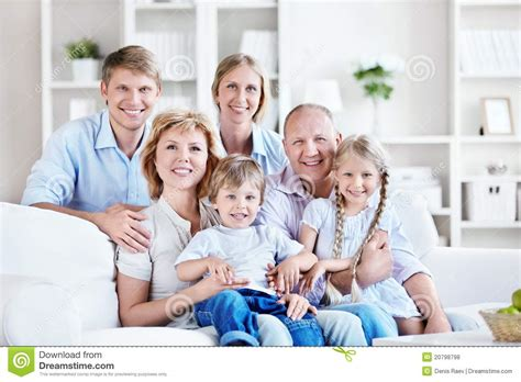 family home stock photo image of affectionate