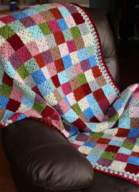 Patchwork Square Afghan - 17 beste afbeeldingen crochet ii afghans blankets