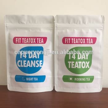 Caribbean Dreams Cleansing Tea Detox Herbal Tea by Mint Tea 14 Day Mint Teatox 28