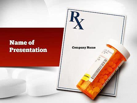 Prescription Drugs Rx Powerpoint Template Backgrounds 11020 Poweredtemplate Com Pills Powerpoint Template