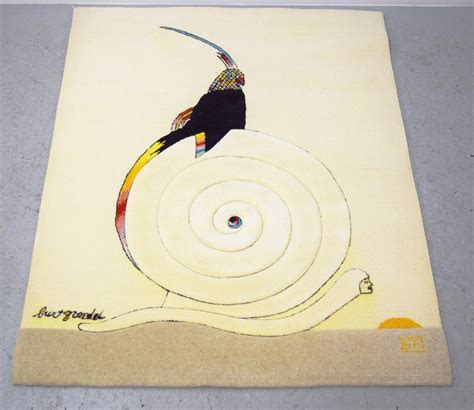 burt rug edward fields wool rug or tapestry designed by burt groedel for sale at 1stdibs
