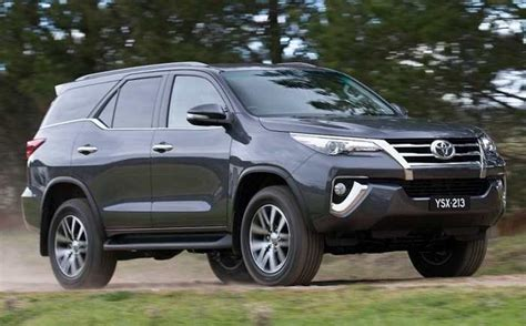 New Car Toyota Fortuner New Toyota Fortuner India Price Specifications Mileage