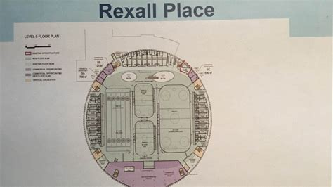 rexall place floor plan two level tournament centre proposed for rexall place