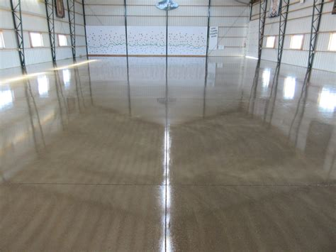floor in pole barn concrete floor option premier concrete