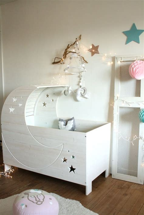 unique baby cribs for adorable baby room creme anglaise lit lune crib nursery le petit prince