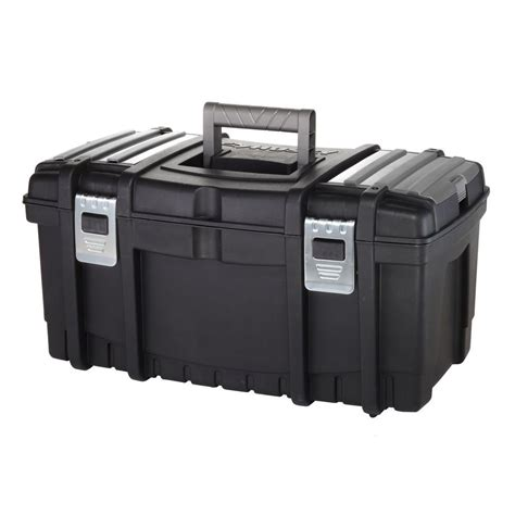 Small Tool Box Home Depot Husky 22 In Tool Box With New Metal Latches 206573 The