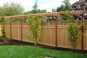 front yard fence ideas privacy romantichomedesign com