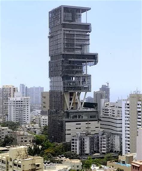 ambani house mukesh ambani house in mumbai famous real estate