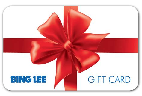 new bing lee gift card from bing lee ebay - Bing Lee Gift Card