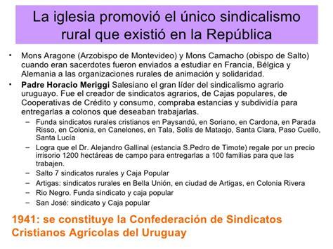 sindicato de empleados de comercio concepcion del uruguay aporte de la iglesia cat 243 lica al desarrollo del uruguay en