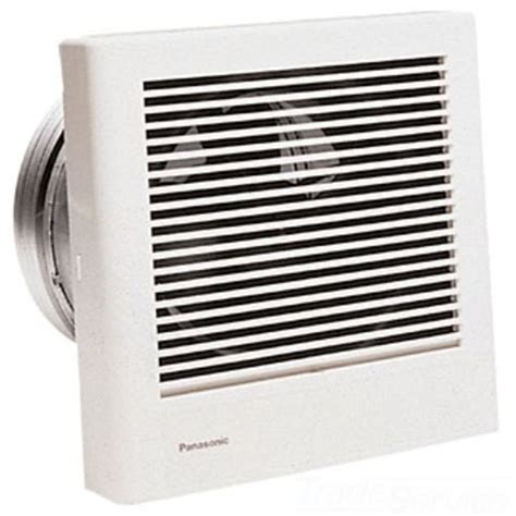wall mounted bathroom ventilation fan panasonic fv 08wq1 70 cfm whisperwall wall mounted