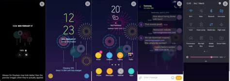 themes samsung hot themes thursday have a look at this week s six new hot